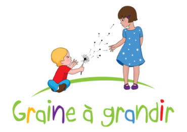 Logo Graine a grandir transparent