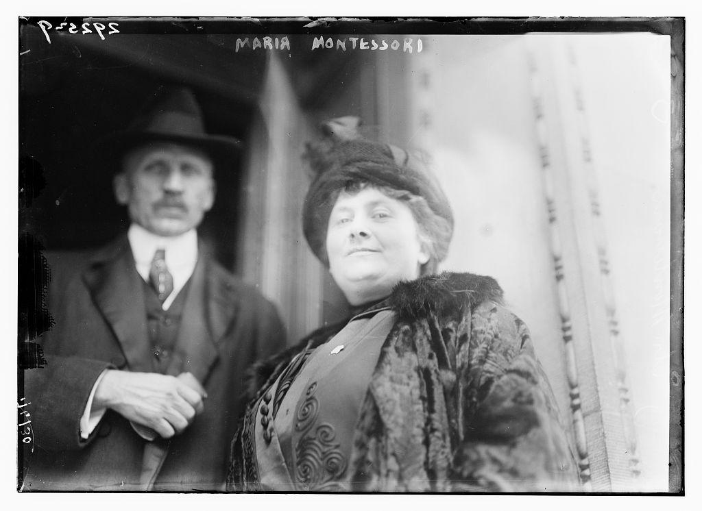 Portrait Maria Montessori